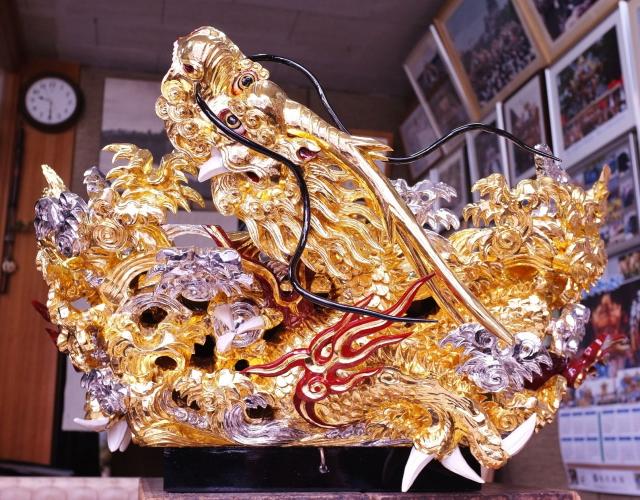 太尾村 露盤彫刻01