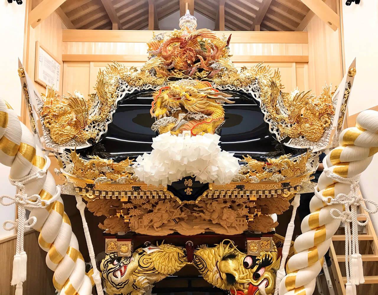 松原八幡神社 宇佐崎屋台04